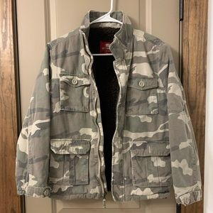 Faded glory Camo jacket